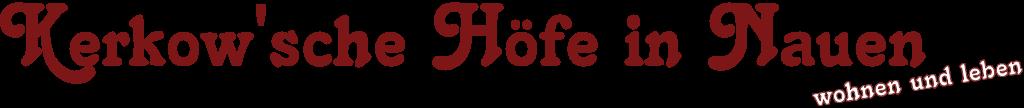 Kerkowsche Höfe Nauen